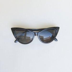 Accessories - 50s Retro Cateye Sunglasses - Black NEW  Pinup